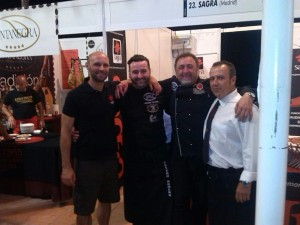 Miguel Angel Sagra, Seve Romero y Pepe Torrecilla